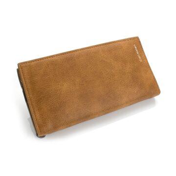 Женские кошельки - Женский кошелек, коричневый П0416