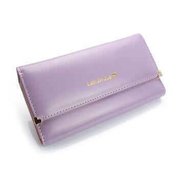 Женский кошелек, фиолетовый П0419