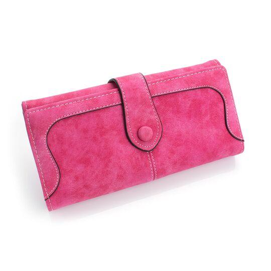 Женские кошельки - Женский кошелек, розовый П0425