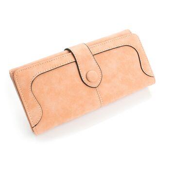 Женский кошелек, розовый 0427