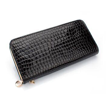 Женский кошелек, черный 0430