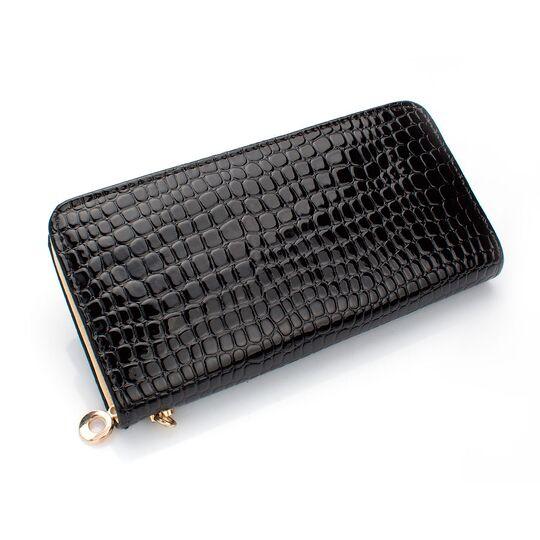 Женские кошельки - Женский кошелек, черный П0430