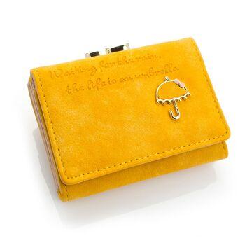 Женский кошелек, желтый П0432