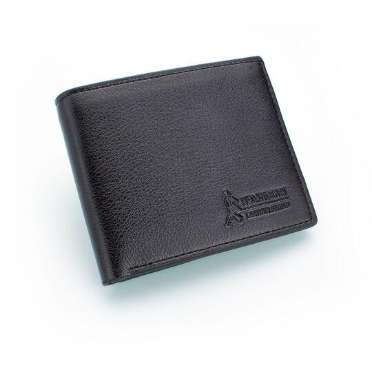 Мужские кошельки - Мужской кошелек, черный П0433
