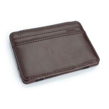 Зажим, кошелек, коричневый 0438
