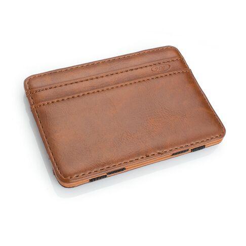 Мужские кошельки - Зажим, кошелек, коричневый 0439