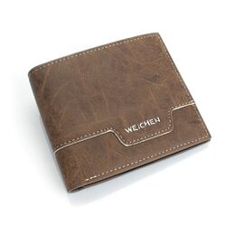 Мужской кошелек, коричневый 0442