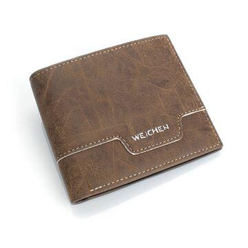 Мужской кошелек, коричневый П0442