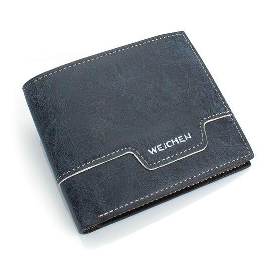 Мужские кошельки - Мужской кошелек, синий П0443