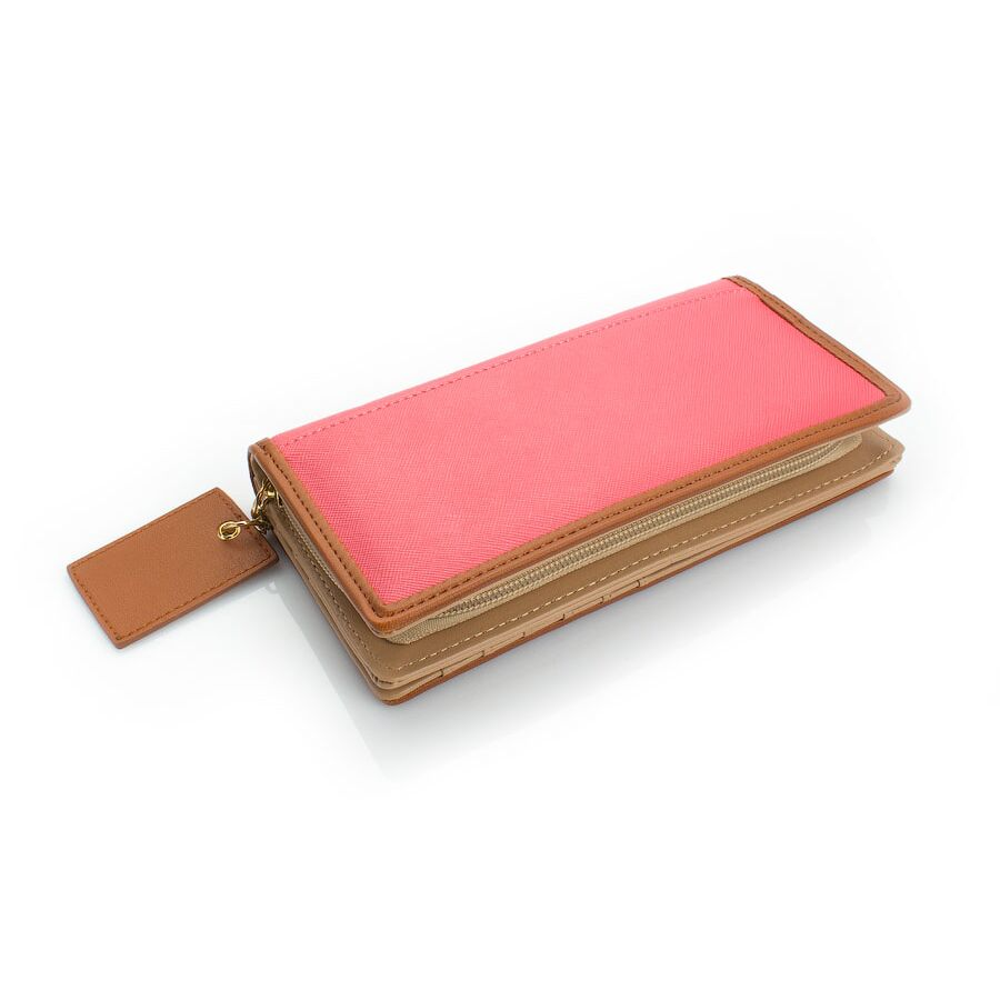 Женские кошельки - Женский кошелек, красный П0445
