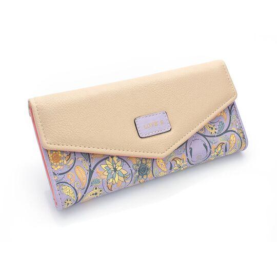 Женские кошельки - Женский кошелек, фиолетовый П0455