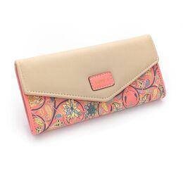 Женский кошелек, розовый 0457