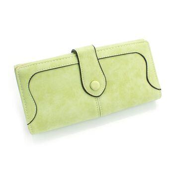 Женский кошелек, зеленый П0458