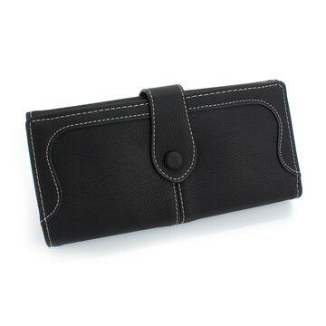 Женский кошелек, черный П0460