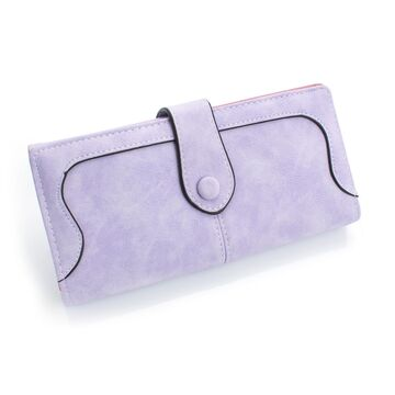 Женский кошелек, фиолетовый П0461