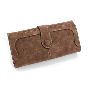 Женский кошелек, коричневый 0462