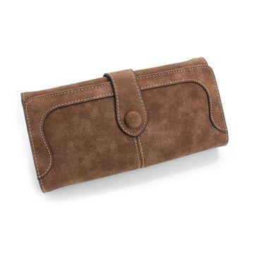 Женские кошельки - Женский кошелек, коричневый П0462
