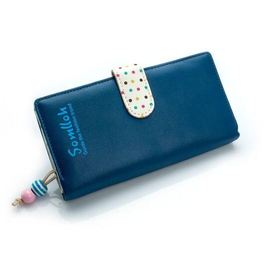 Женские кошельки - Женский кошелек, синий П0470