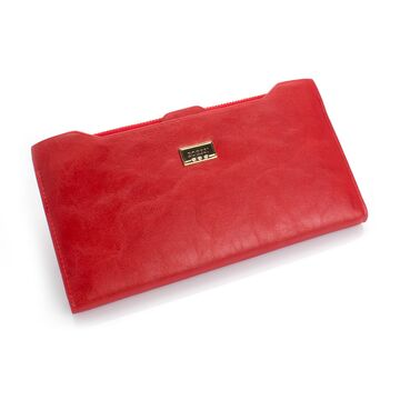 Женские кошельки - Женский кошелек, красный П0475