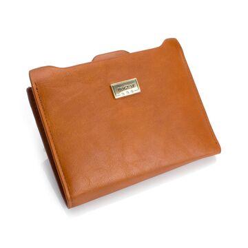 Женские кошельки - Женский кошелек, коричневый П0476