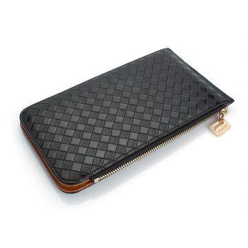 Женский кошелек, черный П0478