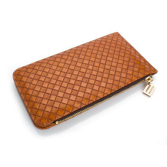 Женские кошельки - Женский кошелек, коричневый П0479