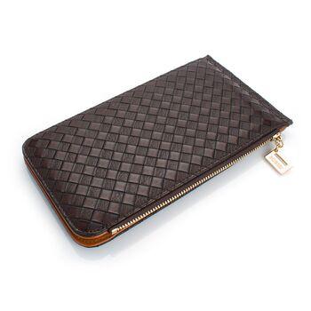 Женский кошелек, коричневый 0480