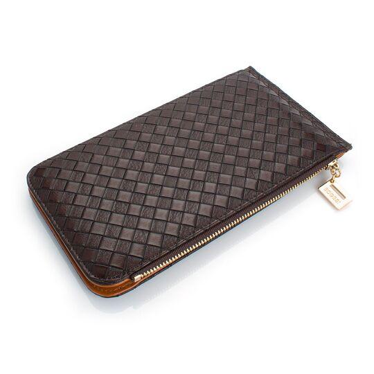 Женский кошелек, коричневый П0480