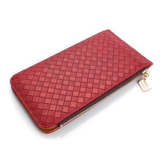 Женские кошельки - Женский кошелек, красный П0481