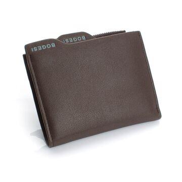 Мужские кошельки - Мужской кошелек, коричневый П0482
