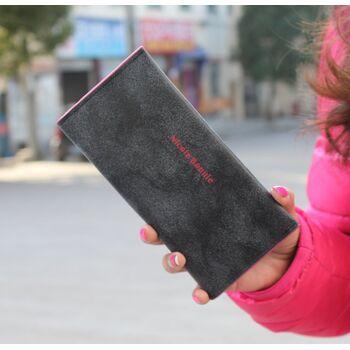 Женский кошелек, черный 0483