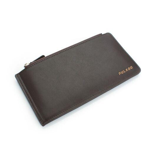 Мужской кошелек, коричневый П0486