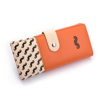Женский кошелек, оранжевый П0488