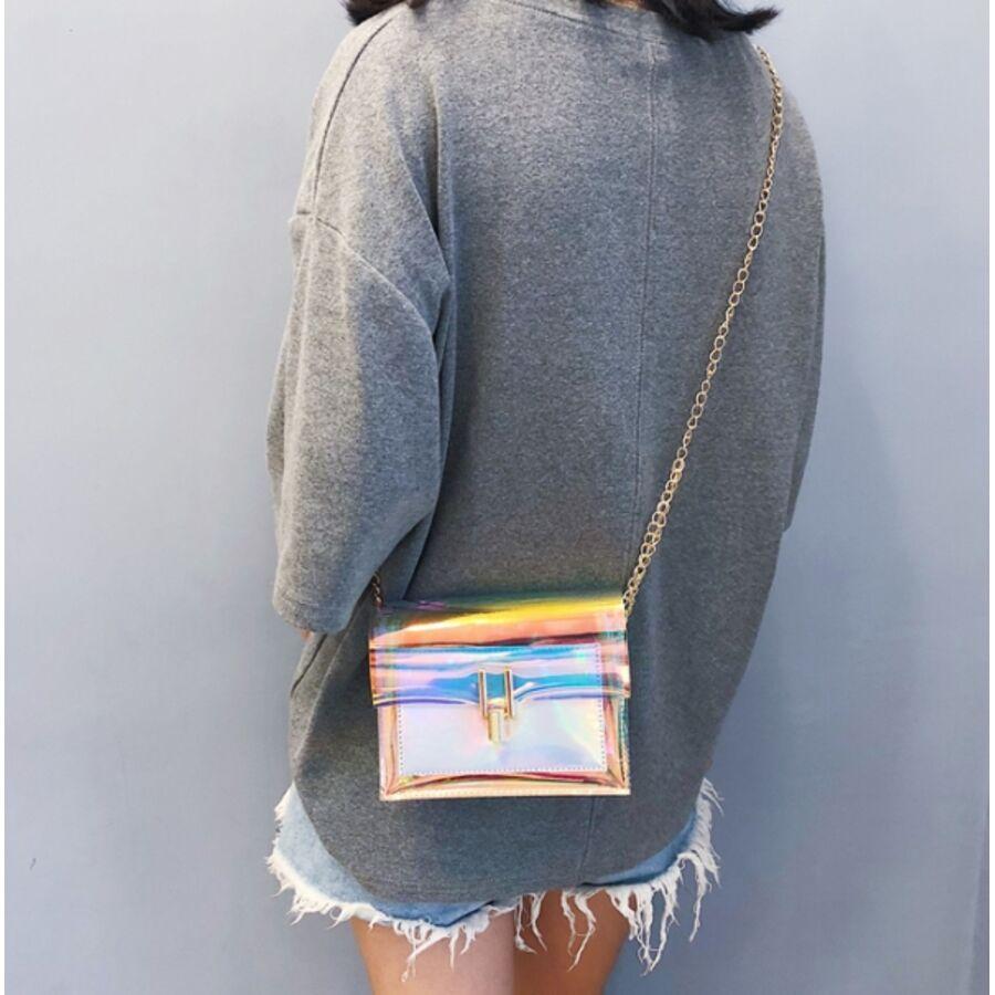Женские сумки - Женская сумка прозрачная 0495