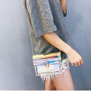Женские сумки - Женская сумка прозрачная П0495