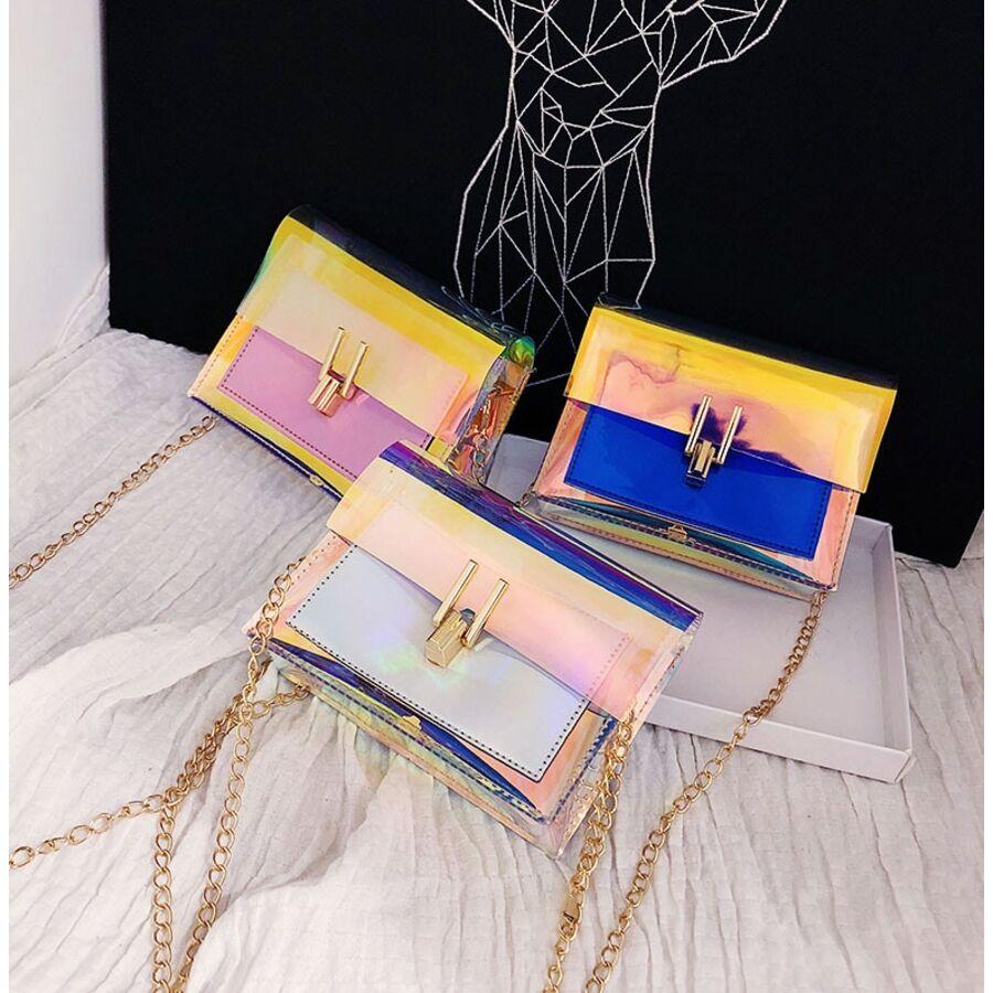 Женские сумки - Женская сумка, прозрачная 0496