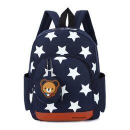 Женский рюкзак, синий 0498