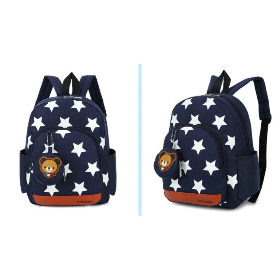 Детские рюкзаки - Женский рюкзак, синий 0498