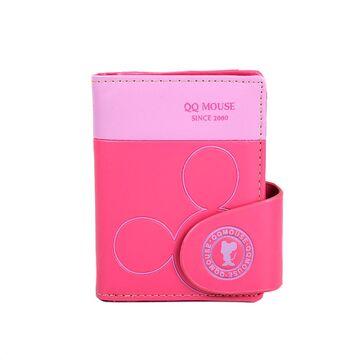 Женский кошелек Микки Маус, розовый П0502