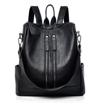 Женские рюкзак SAITEN, черный 0503