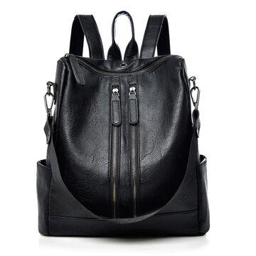 Женские рюкзак SAITEN, черный П0503