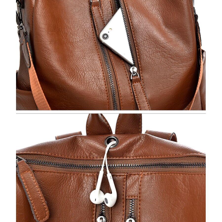 Женские рюкзаки - Женские рюкзак SAITEN, черный 0503