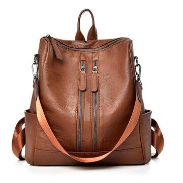 Женские рюкзаки - Женский рюкзак SAITEN, коричневый П0504