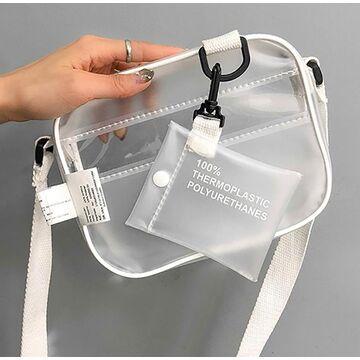 Женские сумки - Женская сумка прозрачная П0505