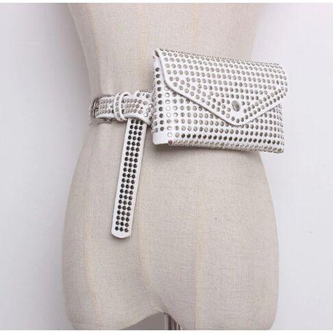 Поясные сумки - Сумка поясная Diinovivo, белая 0507