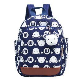 Детский рюкзак с кроликом, синий 0508