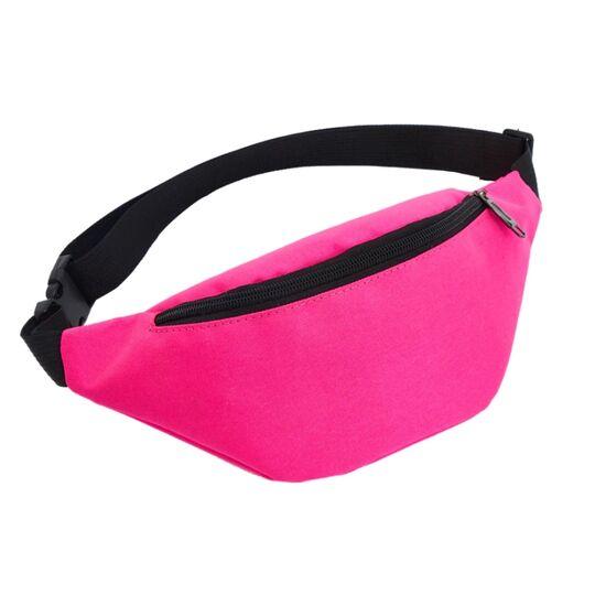 Поясные сумки - Сумка поясная, бананка AIREEBAY, розовая П0525