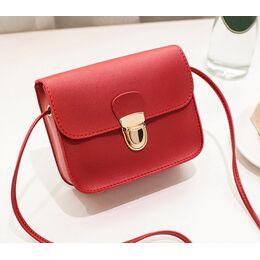 Женская сумка, красная 0531