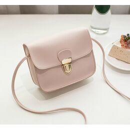 Женская сумка, розовая - 0532