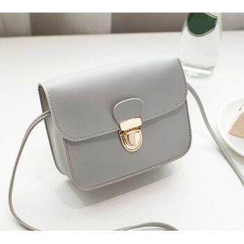 Женская сумка, серая 0533